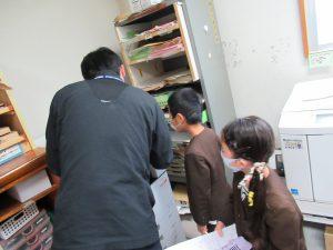 学校探検準備5