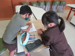 学校探検準備3